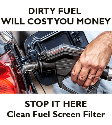 how to clean a dirty fuel system
